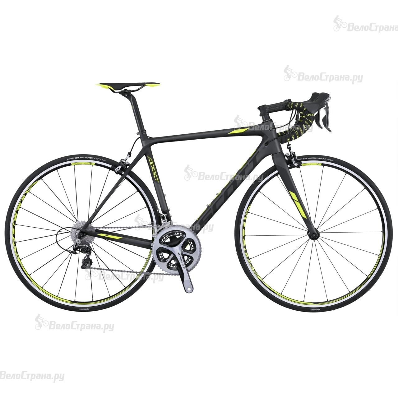 Велосипед Scott Addict 10 (2016) scott addict sl compact 2015