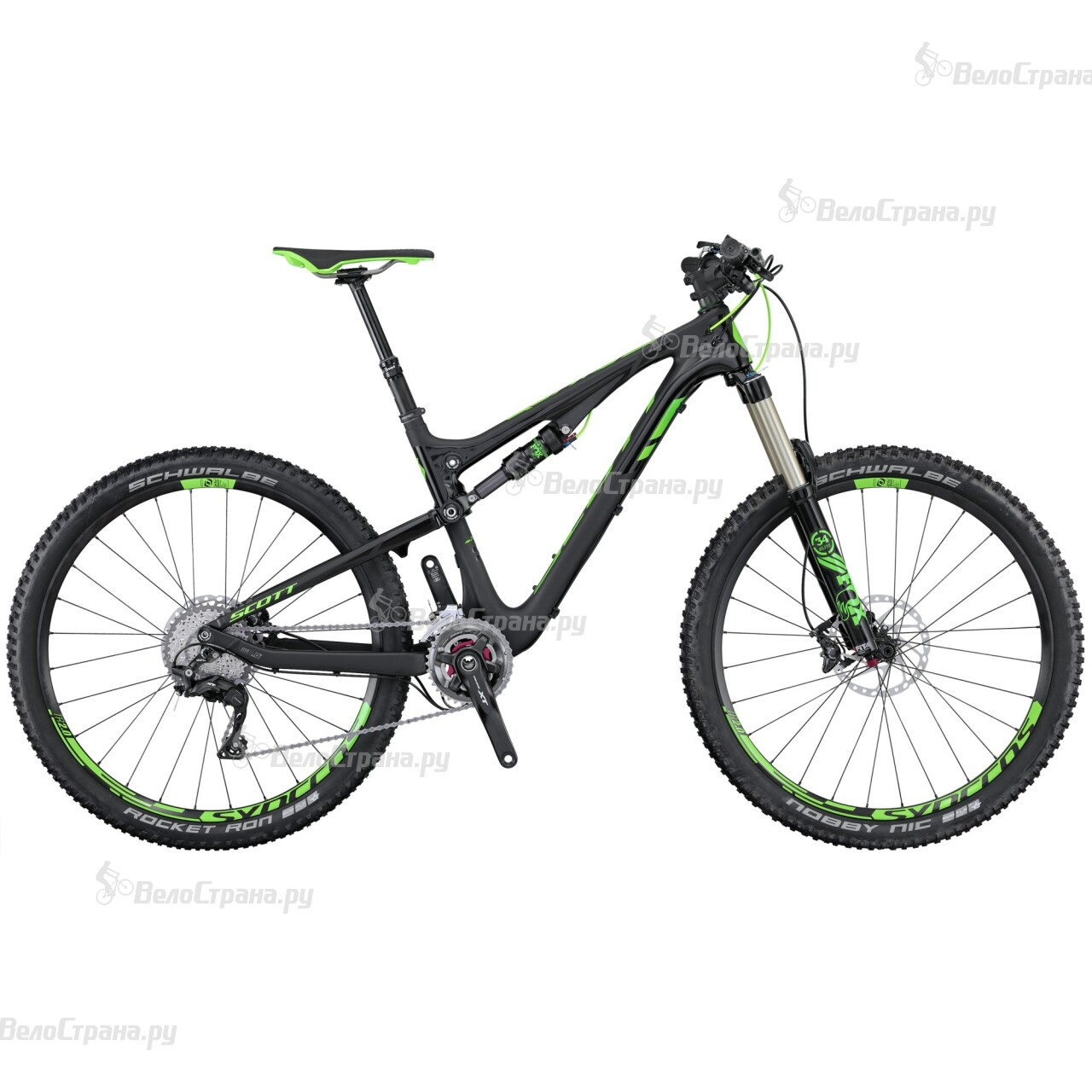 Велосипед Scott Genius 910 (2016)