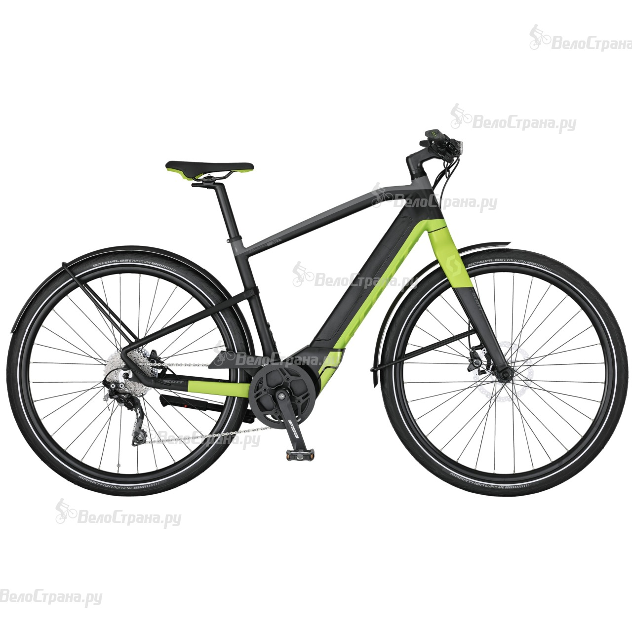 Велосипед Scott E-Silence Speed 10 (2017) велосипед scott e silence evo 2017
