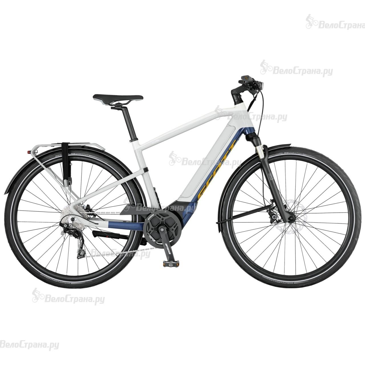 Велосипед Scott E-Silence 20 (2017) велосипед scott e silence speed 20 2017