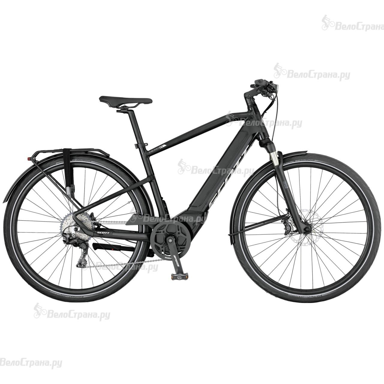 Велосипед Scott E-Silence 10 (2017) велосипед scott e silence evo 2017