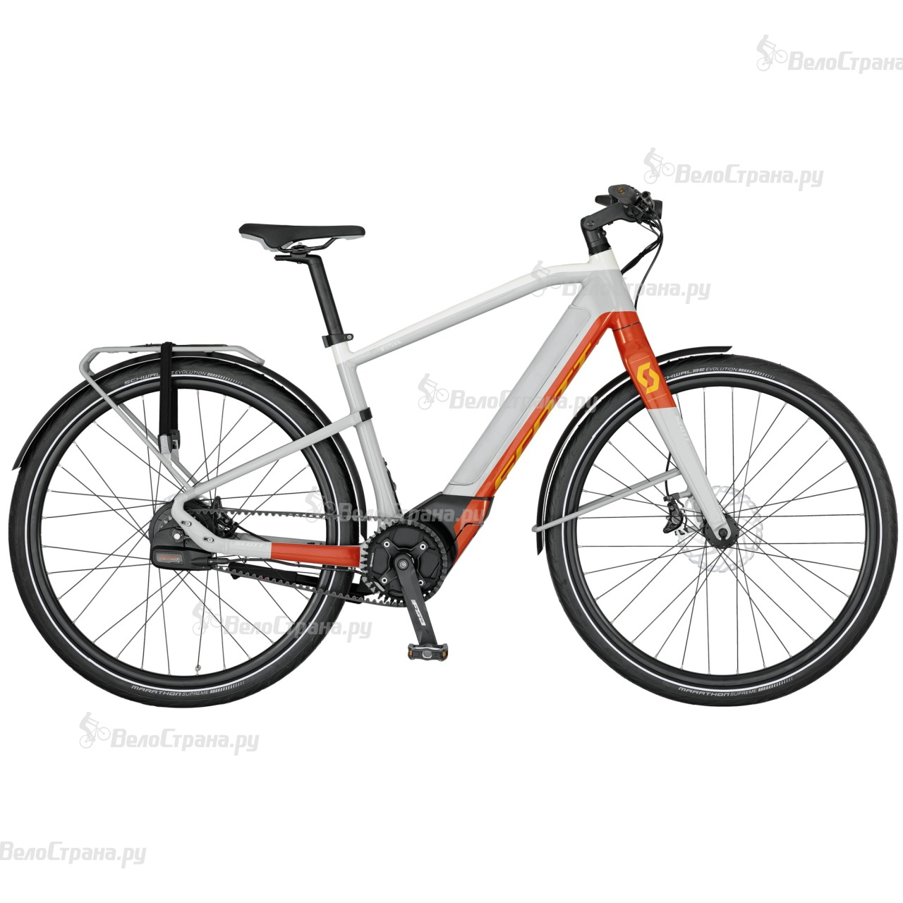 Велосипед Scott E-Silence Evo (2017) велосипед scott e silence evo 2017