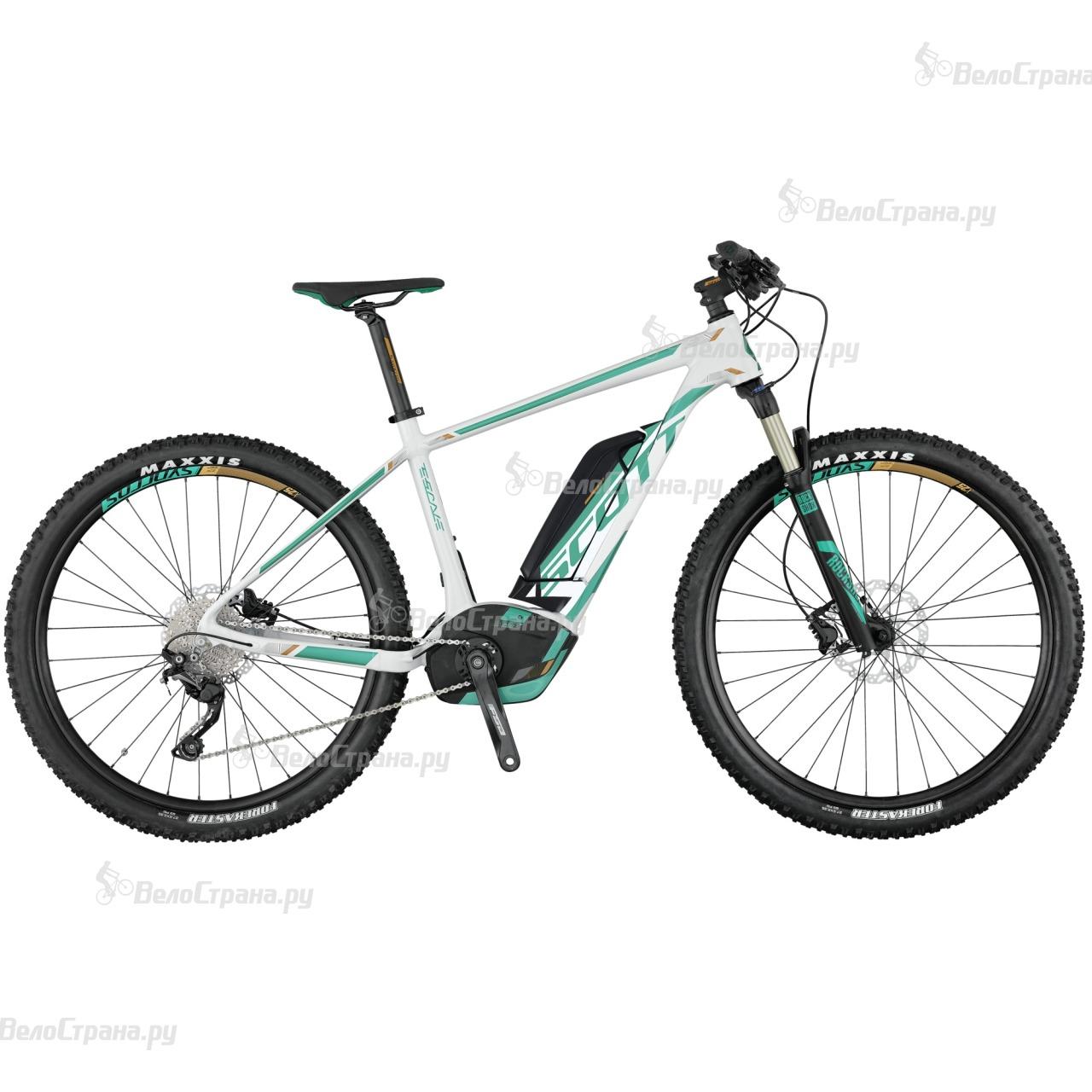 Велосипед Scott E-Contessa Scale 730 (2017) велосипед scott contessa solace 15 compact 2015