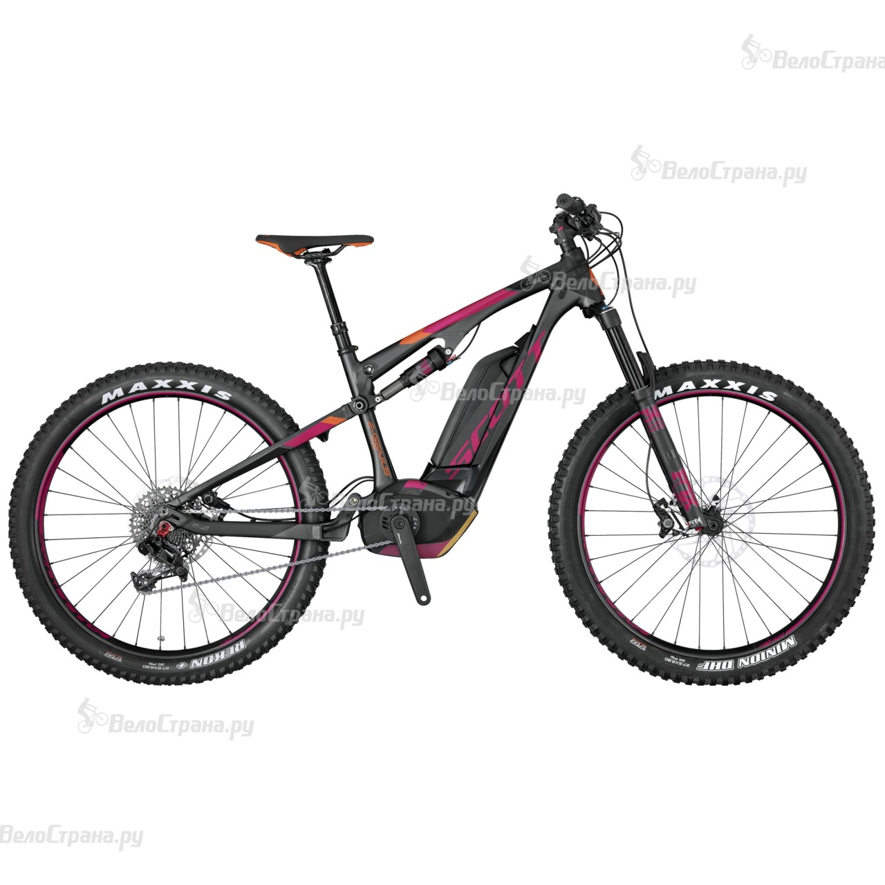 Велосипед Scott E-Contessa Genius 720 Plus (2017)