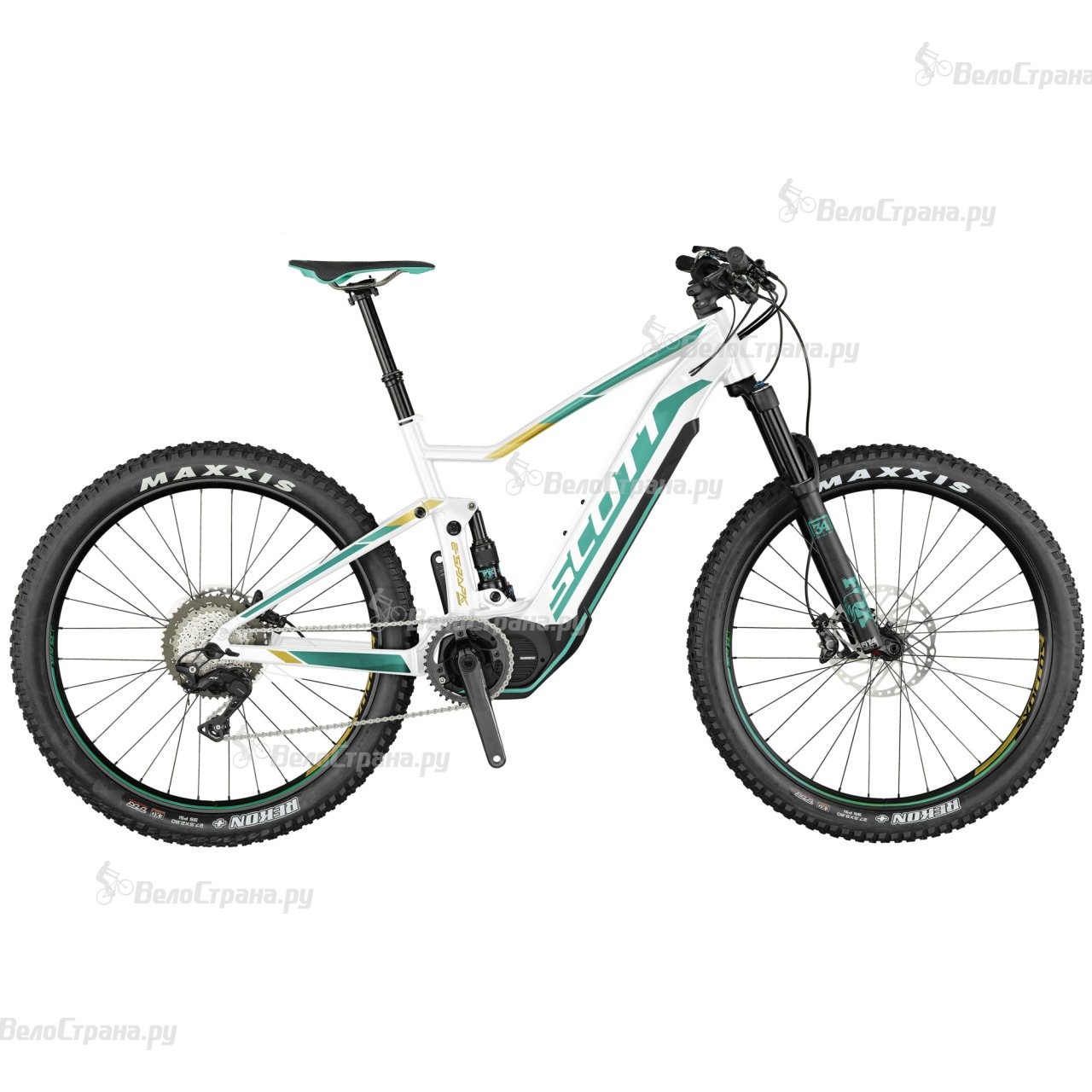 Велосипед Scott E-Contessa Spark 710 Plus (2017)