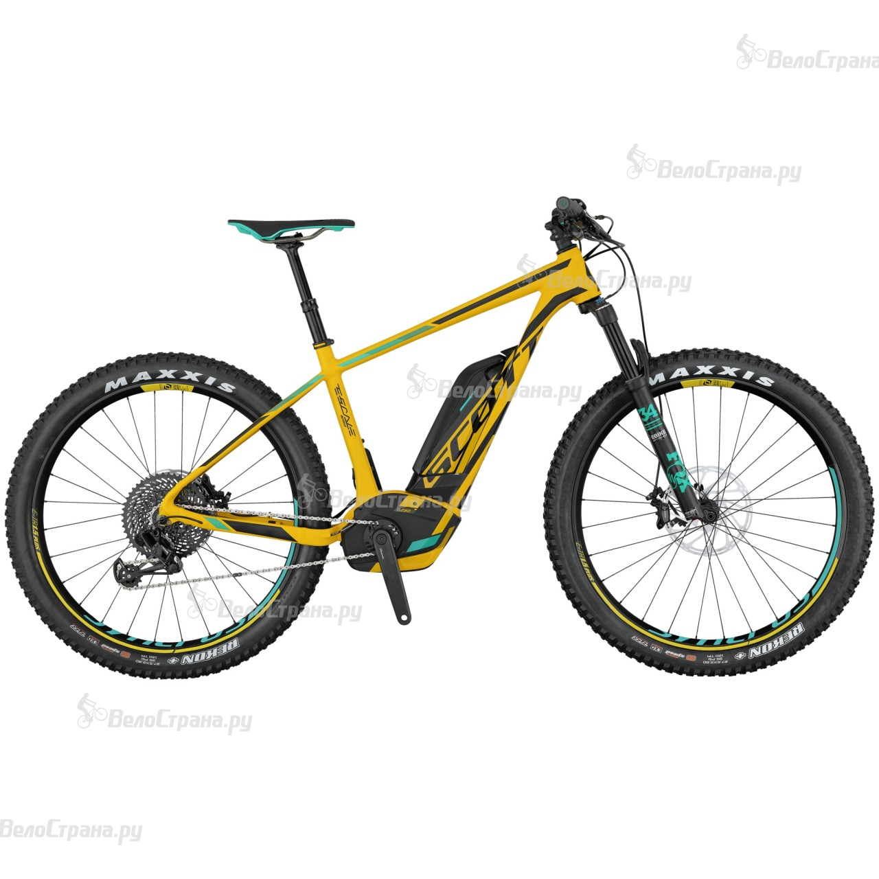Велосипед Scott E-Scale 700 Plus Ultimate (2017) scott scale 700 rc 2016