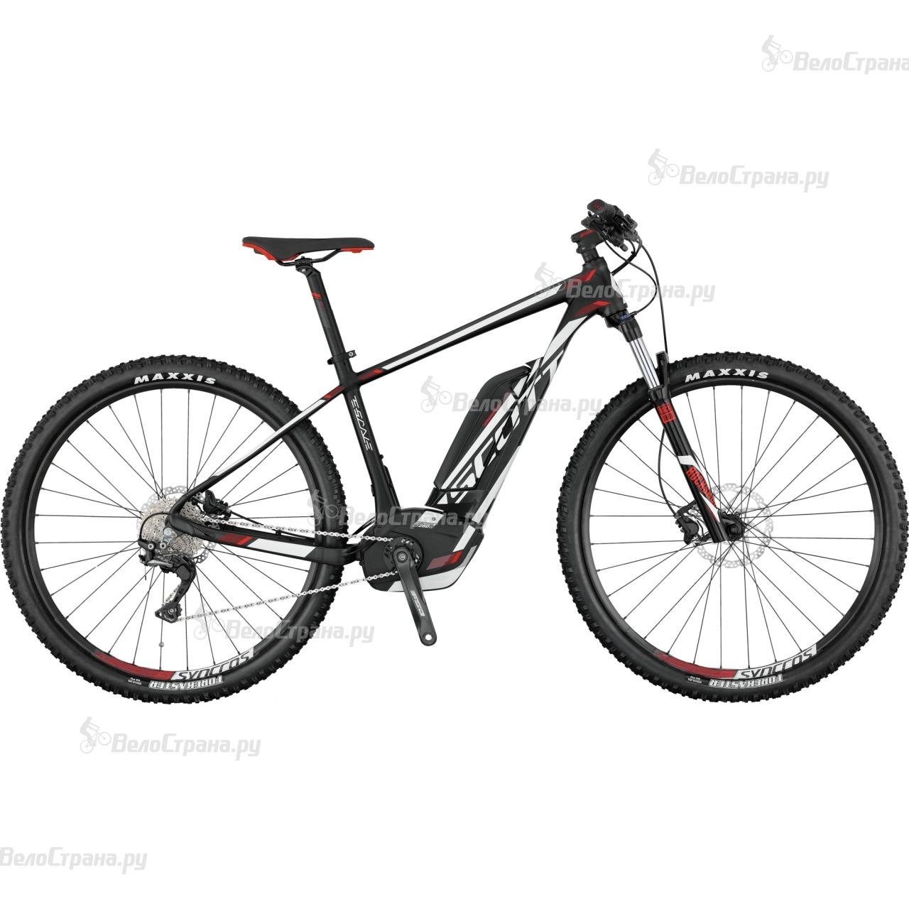 Велосипед Scott E-Scale 930 (2017) велосипед scott scale 700 premium 2015