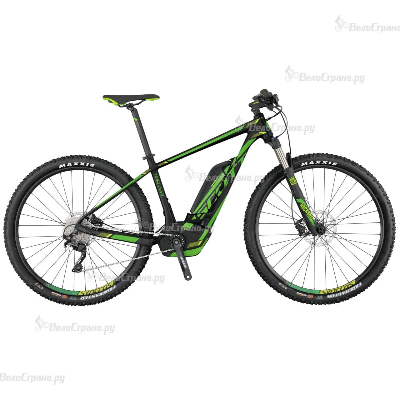 Велосипед Scott E-Scale 920 (2017) велосипед scott scale 700 premium 2015
