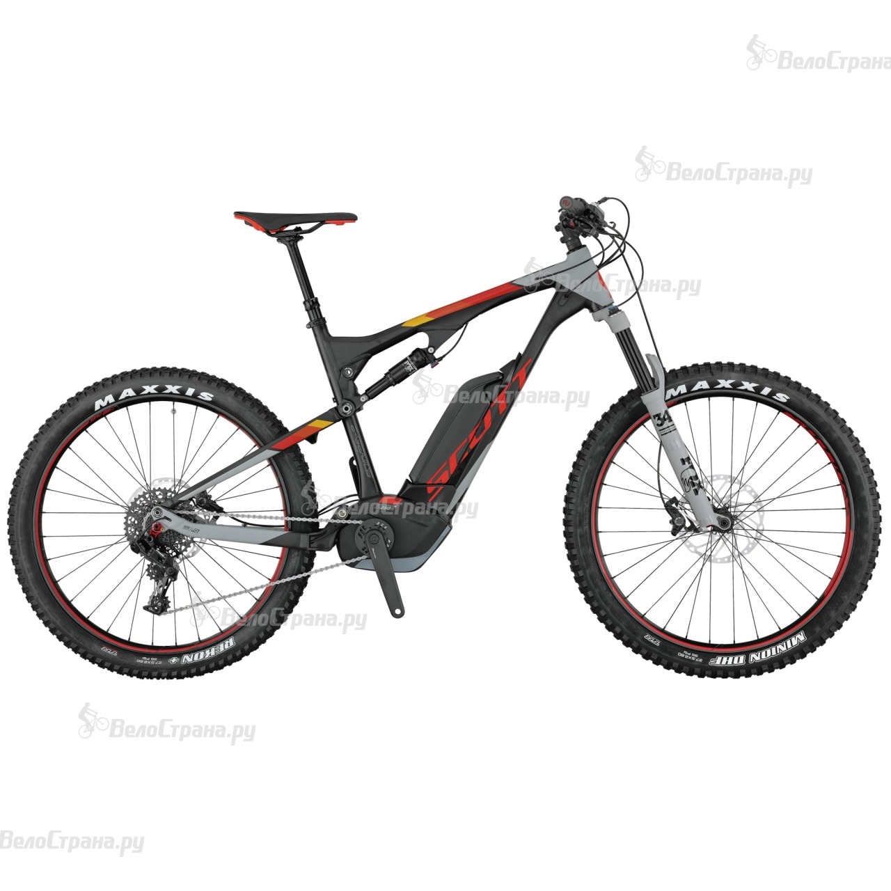 Велосипед Scott E-Genius 720 Plus (2017) genius hs 300a silver