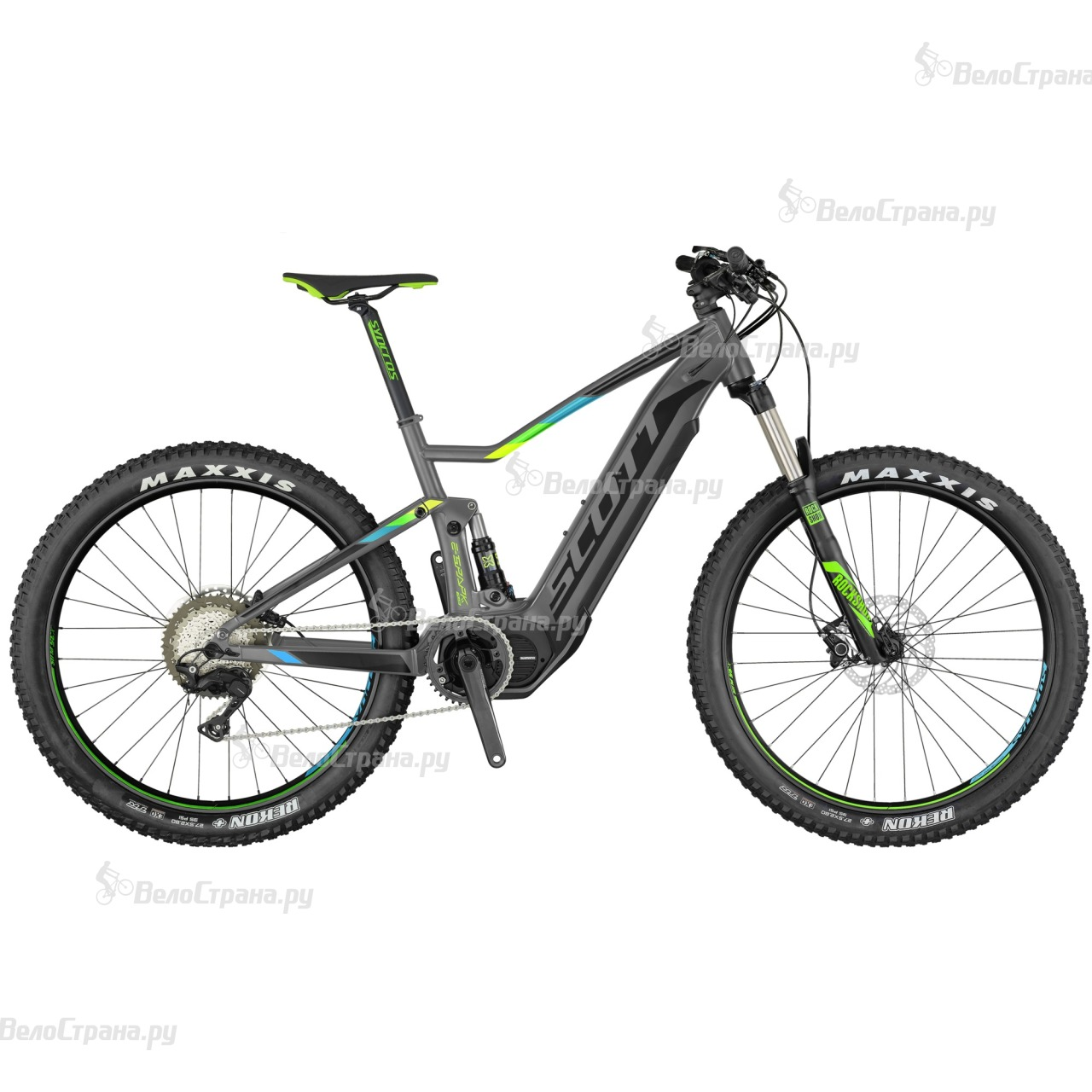 Велосипед Scott E-Spark 720 Plus (2017) велосипед scott spark 720 2015