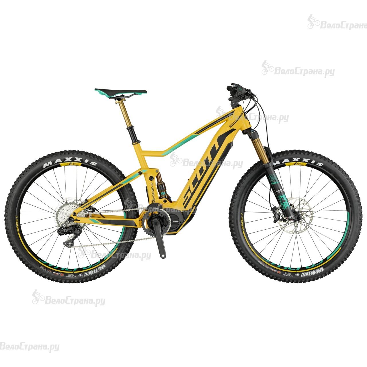 Велосипед Scott E-Spark 700 Plus Tuned (2017) велосипед scott genius lt 700 tuned plus 2016