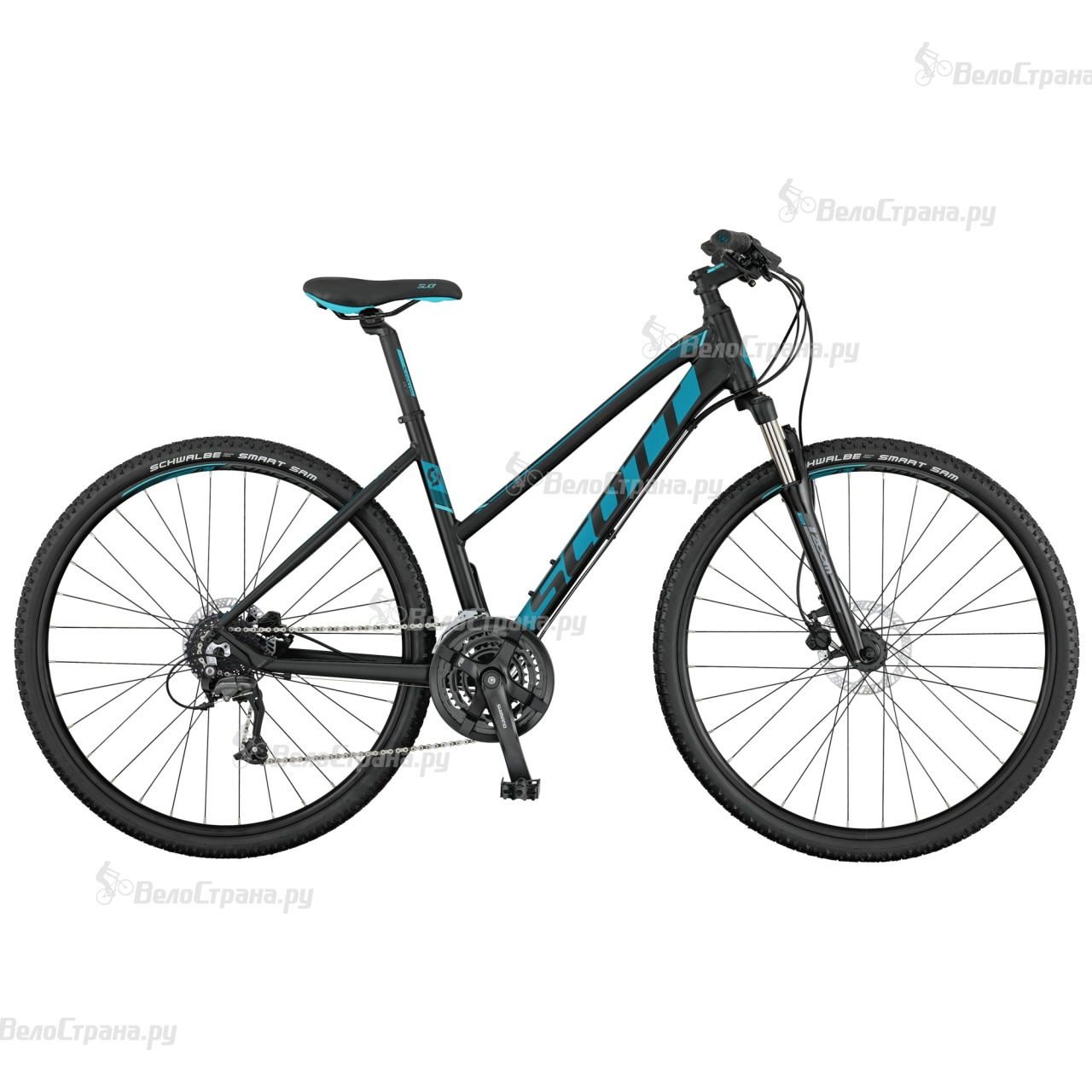 Велосипед Scott Sub Cross 40 Lady (2017) велосипед scott sub cross 30 men 2017