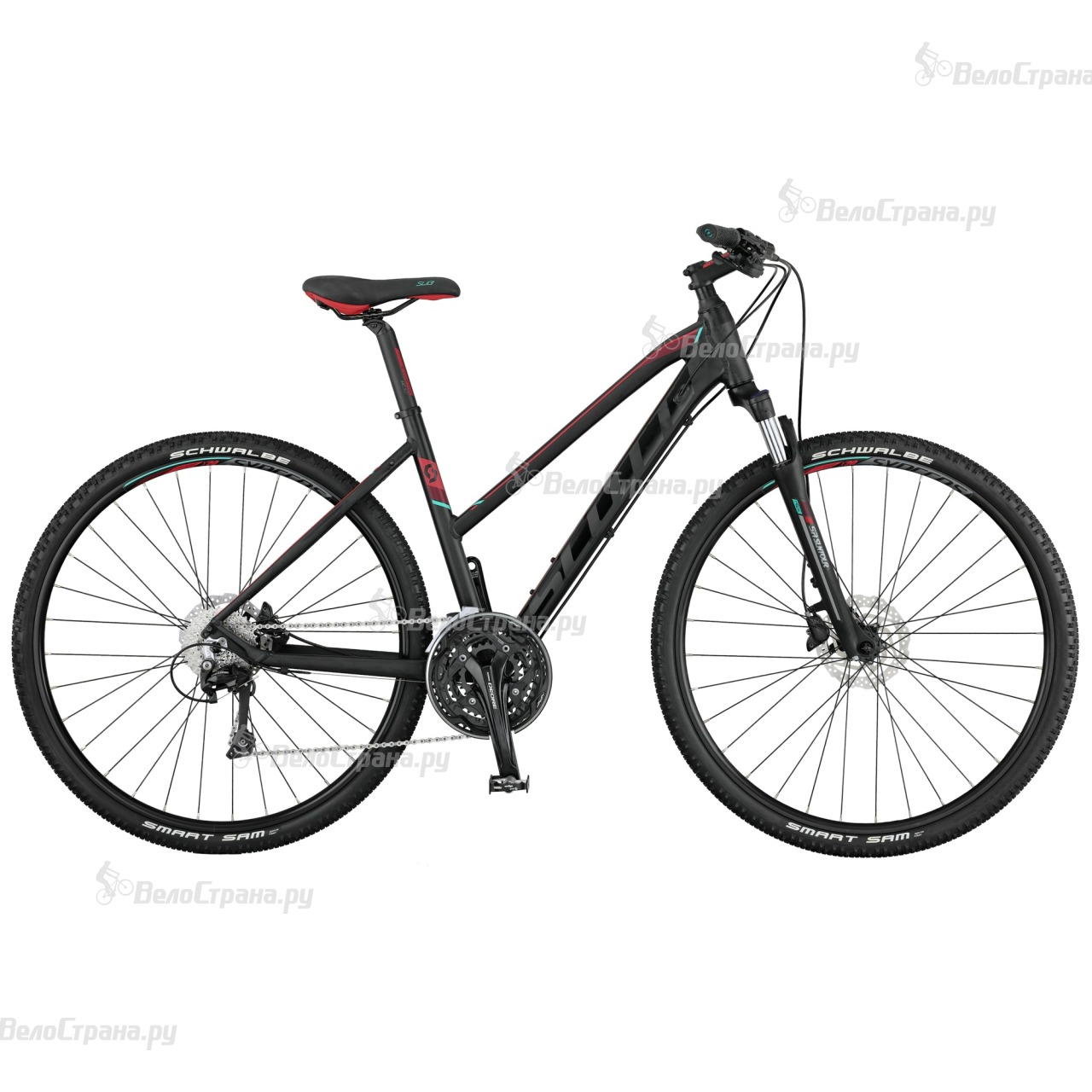 Велосипед Scott Sub Cross 20 Lady (2017) велосипед scott sub cross 30 men 2017