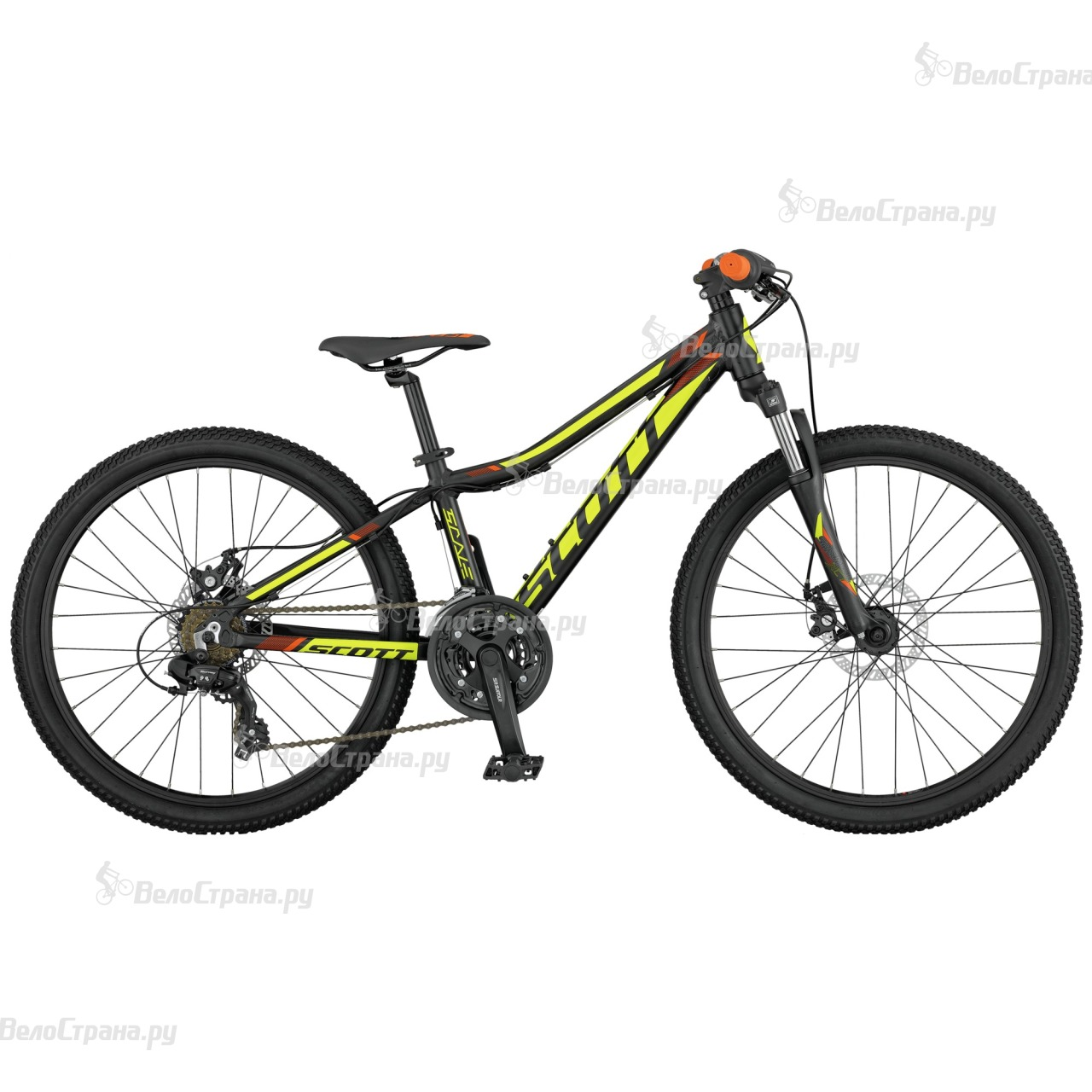 Велосипед Scott Scale JR 24 disc (2017) велосипед scott voltage junior 24 disc 24 2016