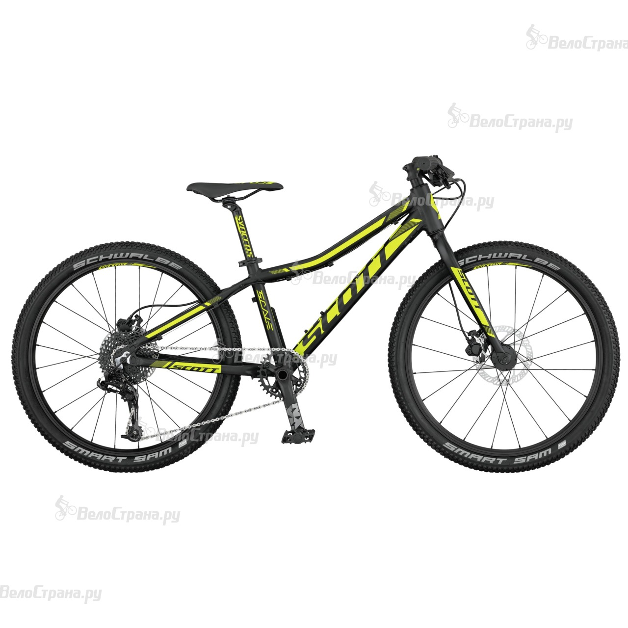 Велосипед Scott Scale RC JR 24 disc (2017) велосипед scott voltage junior 24 disc 24 2016
