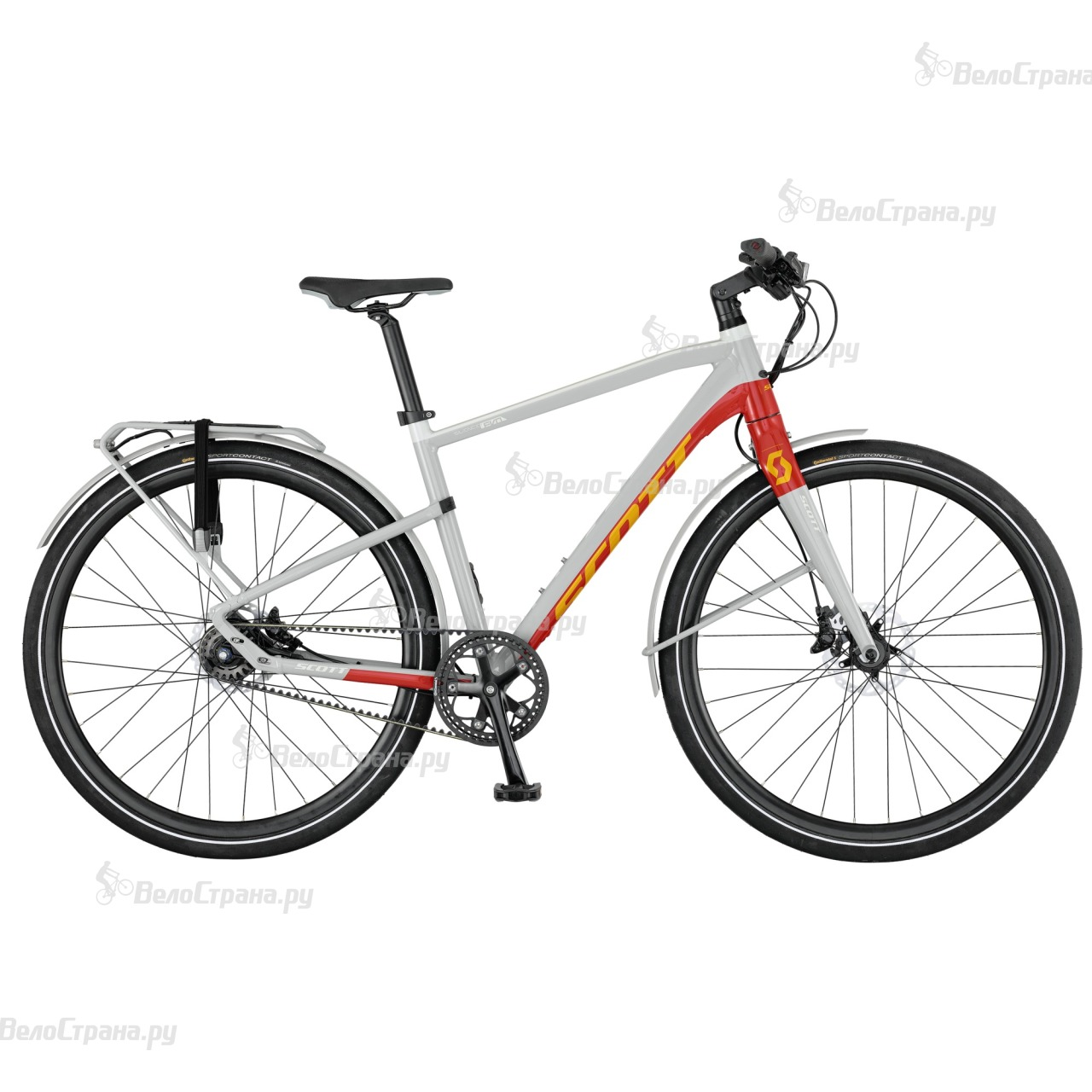 Велосипед Scott Silence Evo (2017) велосипед scott e silence evo 2017
