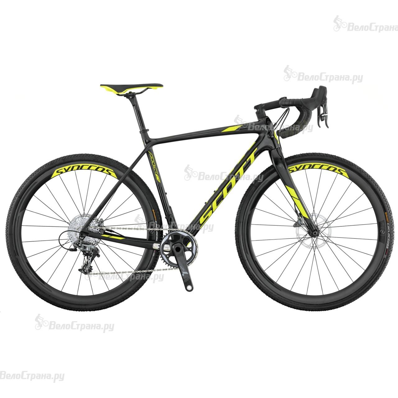 Велосипед Scott Addict CX 10 Disc (2017) scott addict sl compact 2015