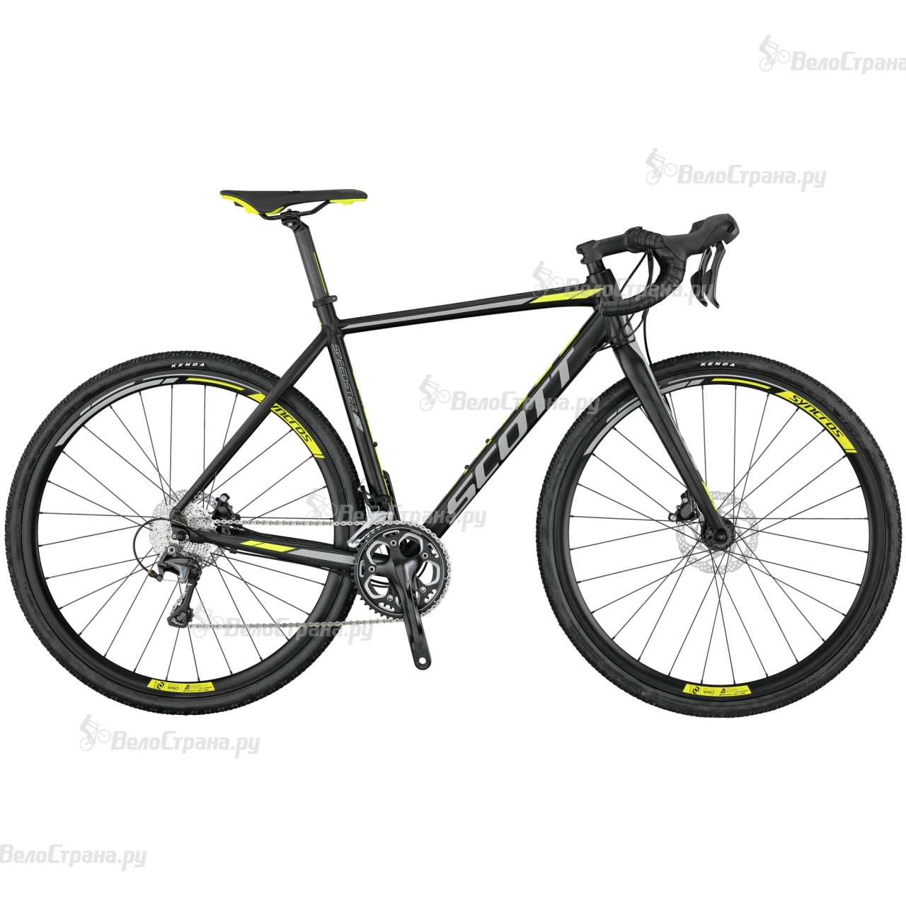 Велосипед Scott Speedster CX 10 Disc (2017) велосипед scott speedster cx 20 disc 28 2016