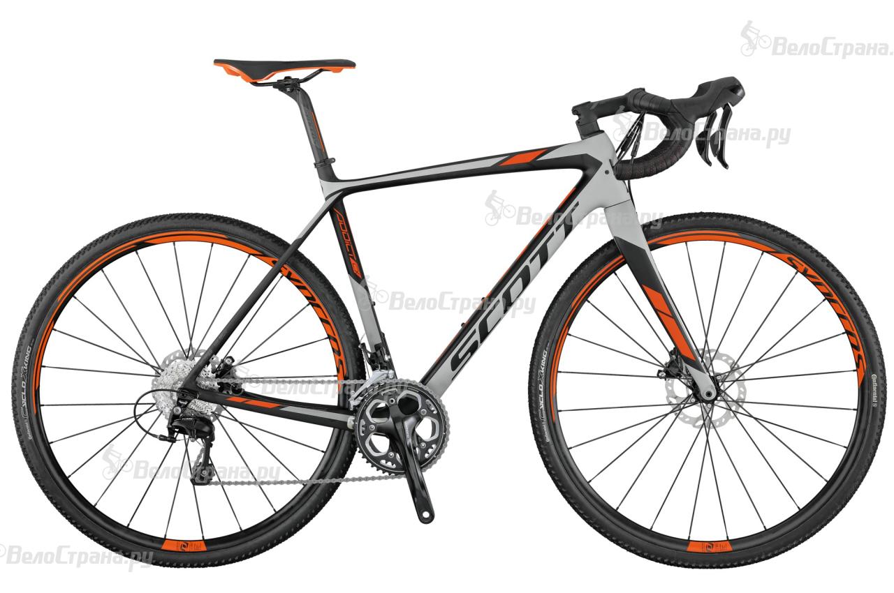 Велосипед Scott Addict CX 20 Disc (2017) велосипед scott speedster cx 20 disc 28 2016
