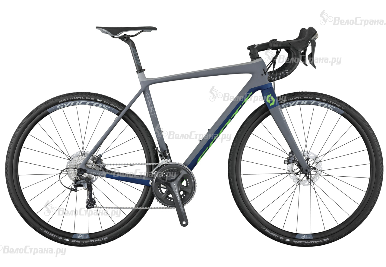 Велосипед Scott Addict Gravel 20 Disc (2017) quantum quantum pwg225lsb 01bb