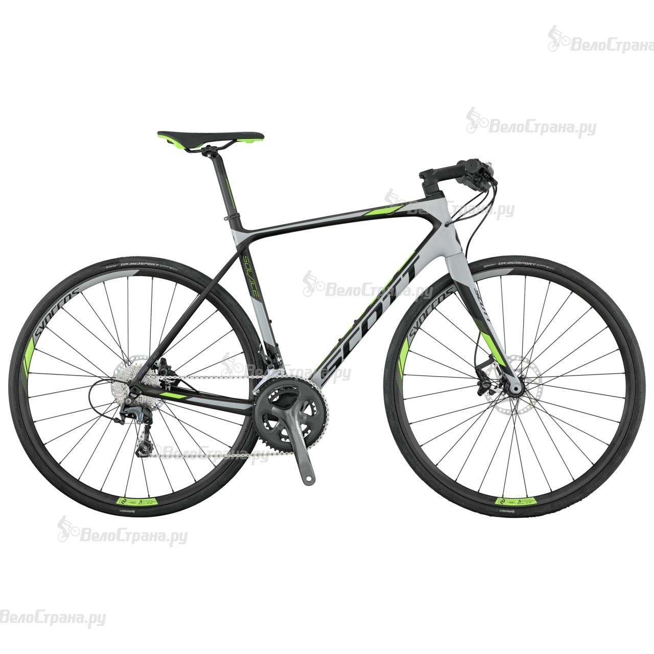 Велосипед Scott Solace 30 FB Disc (2017) велосипед scott contessa solace 15 disc 2017
