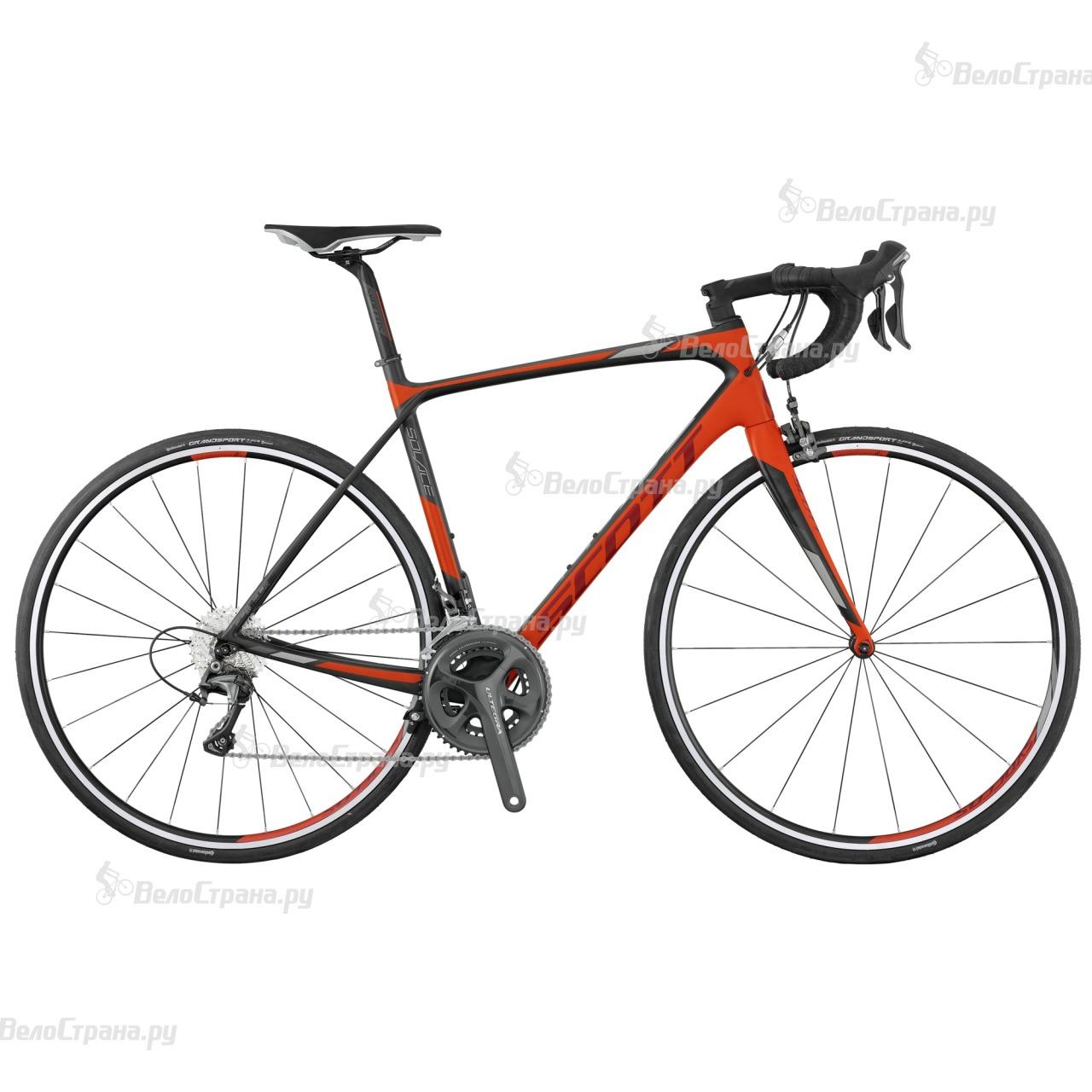 Велосипед Scott Solace 10 Disc (2017) велосипед scott contessa solace 15 compact 2015