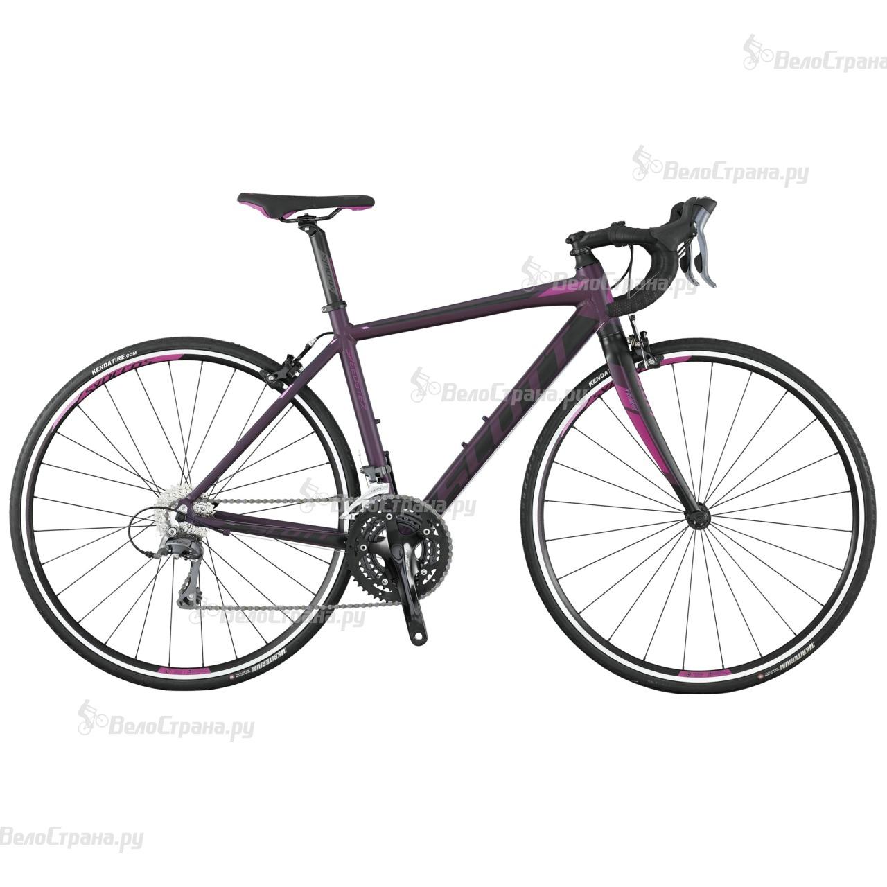 Велосипед Scott Contessa Speedster 45 (2017) велосипед scott contessa speedster 15 2015