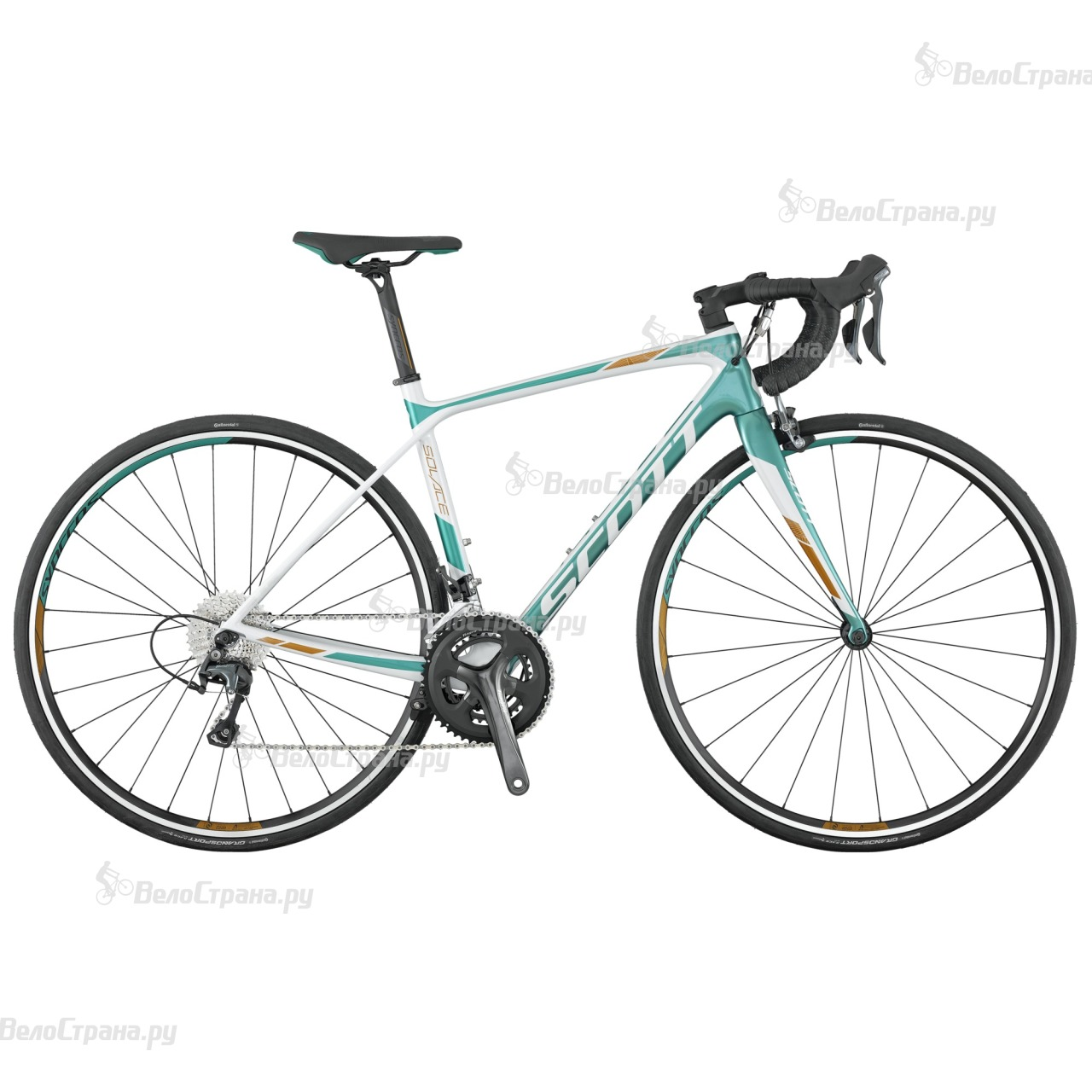 Велосипед Scott Contessa Solace 35 (2017) велосипед scott contessa solace 15 compact 2015