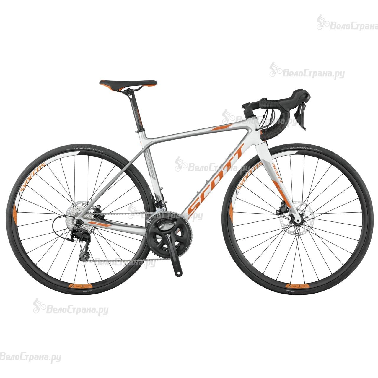 Велосипед Scott Contessa Solace 25 disc (2017) велосипед scott contessa solace 15 compact 2015