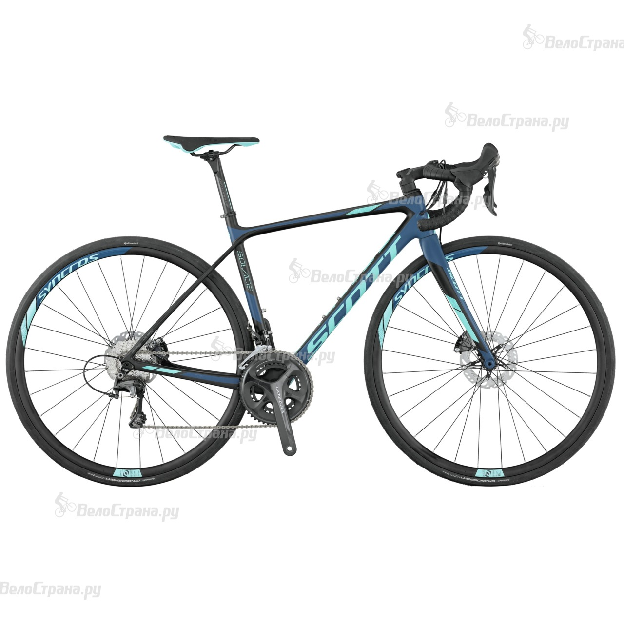 Велосипед Scott Contessa Solace 15 disc (2017)