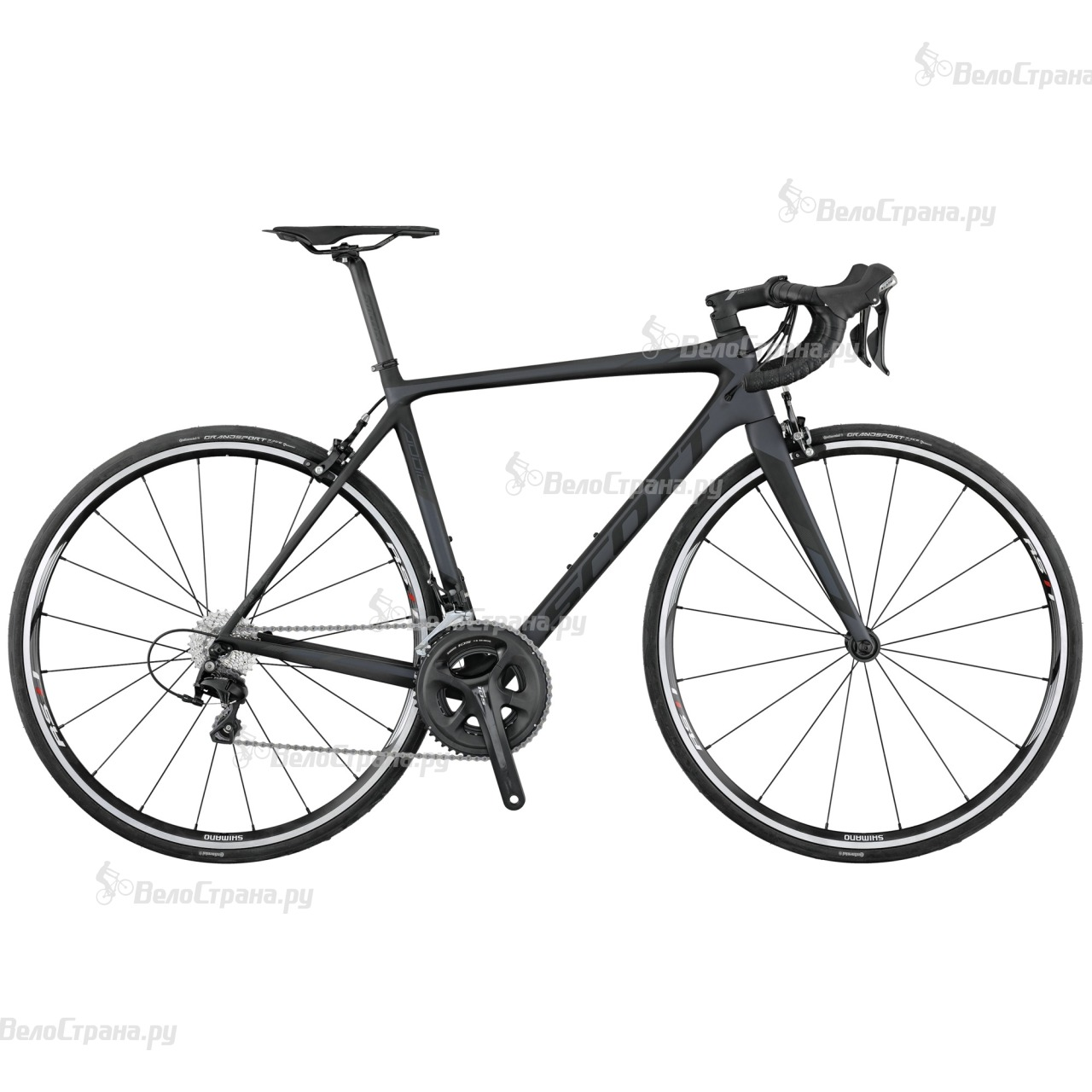 Велосипед Scott Addict 30 (2017) scott addict sl compact 2015