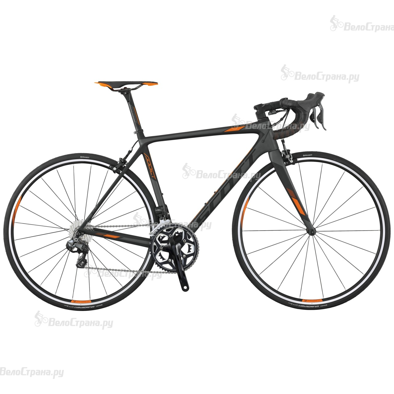 Велосипед Scott Addict 15 Di2 (2017) scott addict sl compact 2015