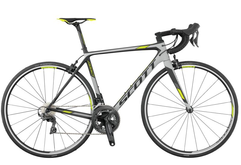 Купить Шоссейный велосипед Scott Addict 10 (2017)