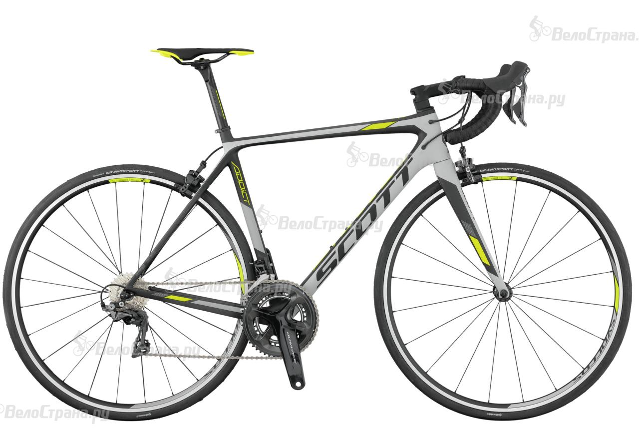 Велосипед Scott Addict 10 (2017) scott addict sl compact 2015