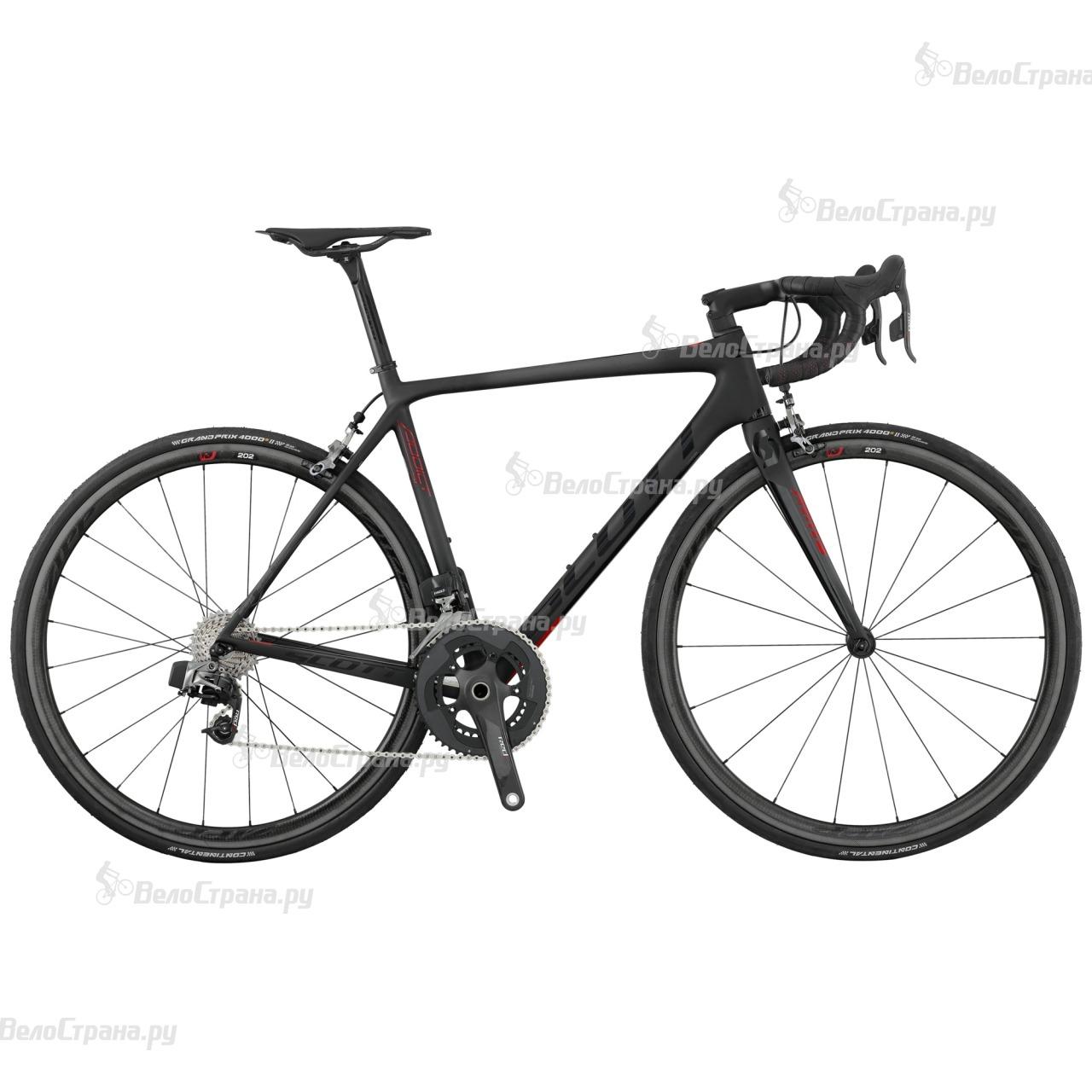 Велосипед Scott Addict SL (2017) scott addict sl compact 2015
