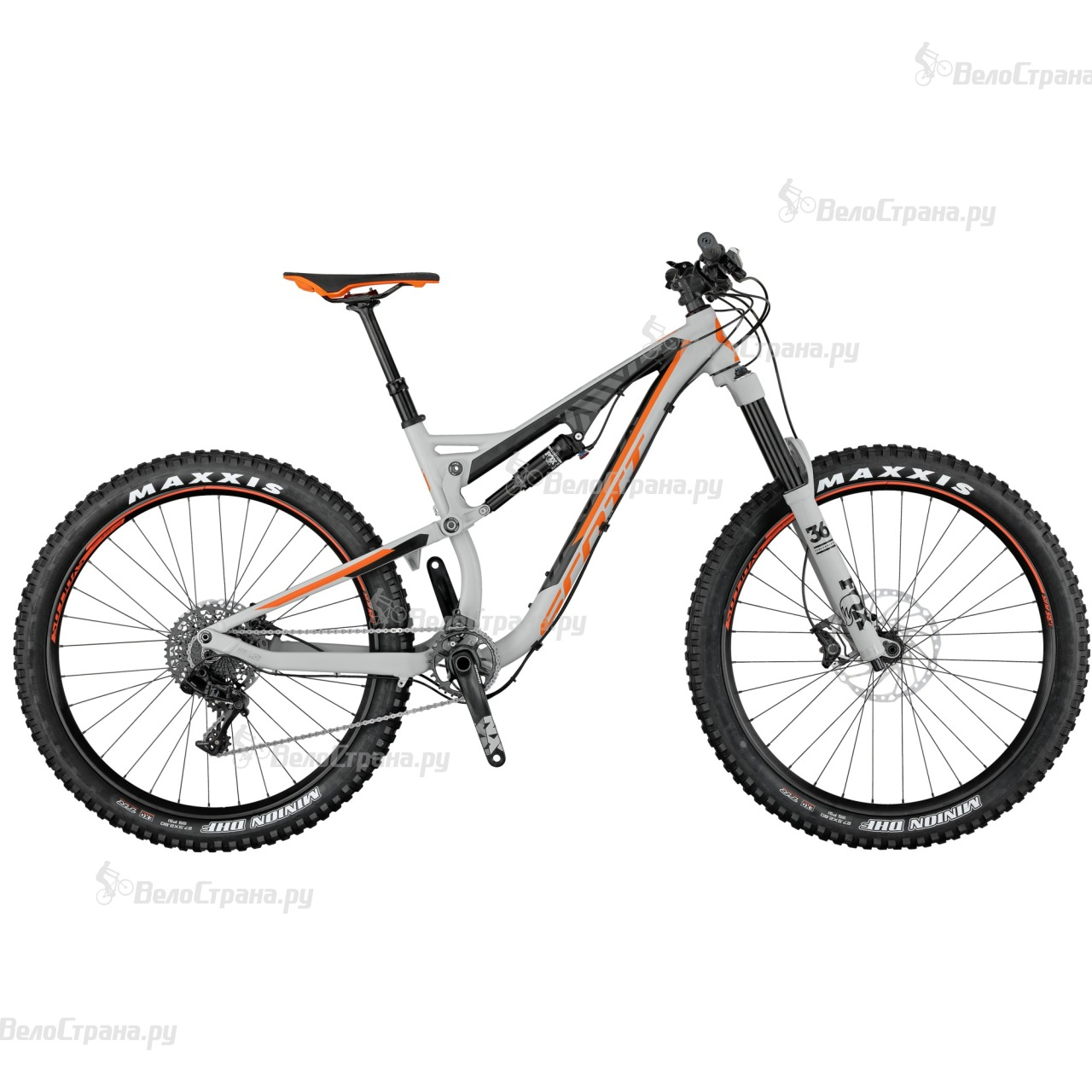 Велосипед Scott Genius LT 720 Plus (2017)