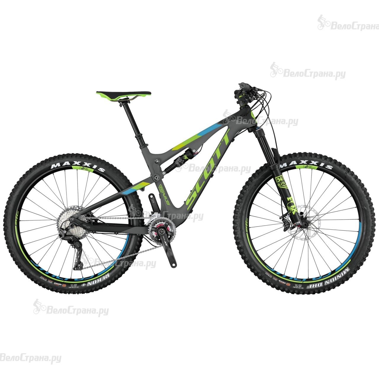 Велосипед Scott Genius 710 Plus (2017) гарнитура genius hs 04su с устранением шумовых помех для msn
