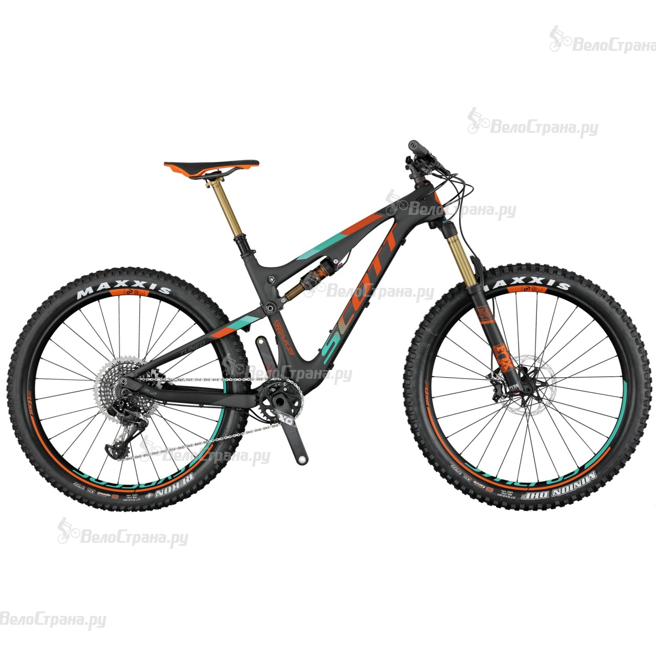 Велосипед Scott Genius 700 Plus Tuned (2017) велосипед scott genius lt 700 tuned plus 2016