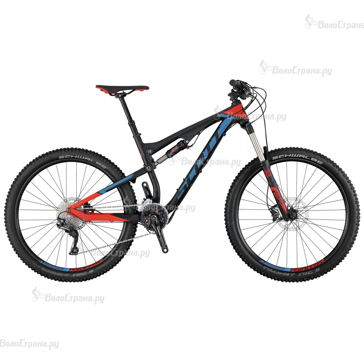 Велосипед Scott Genius 750 (2017)