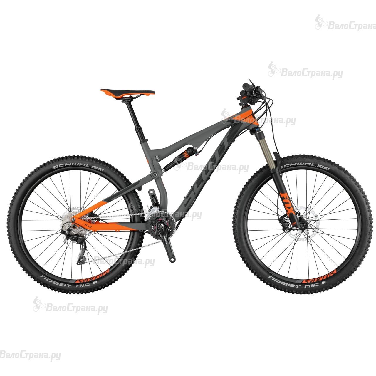 Велосипед Scott Genius 740 (2017) велосипед scott genius lt 700 tuned plus 2016