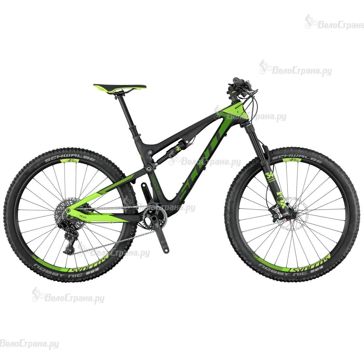 Велосипед Scott Genius 920 (2017) genius hs 300a silver