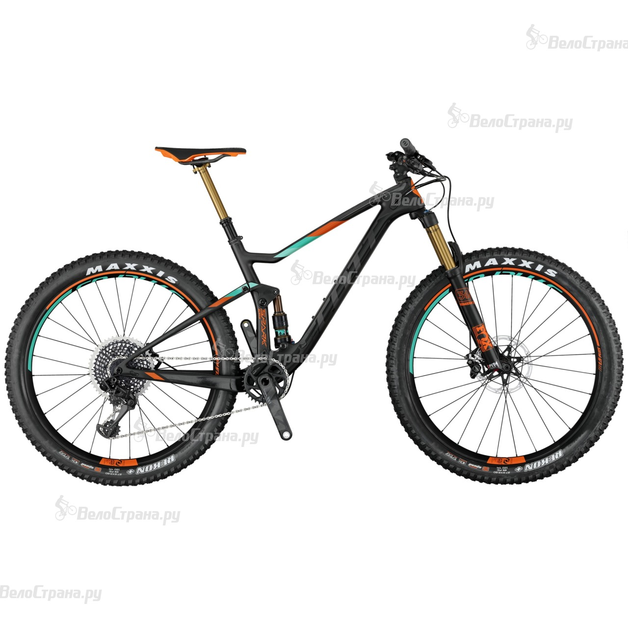 Велосипед Scott Spark 700 Plus Tuned (2017) велосипед scott genius lt 700 tuned plus 2016