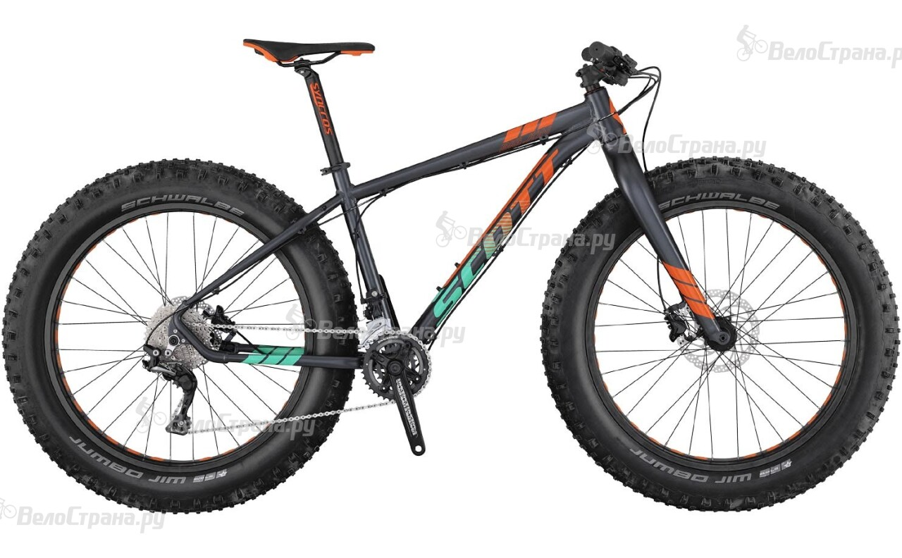 Велосипед Scott Big Jon (2017) велосипед trek domane s 5 disc 2017