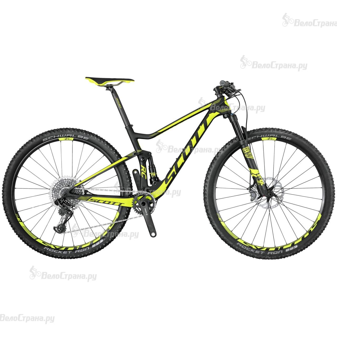 Велосипед Scott Spark RC 900 World Cup (2017) велосипед scott spark 700 rc 2015
