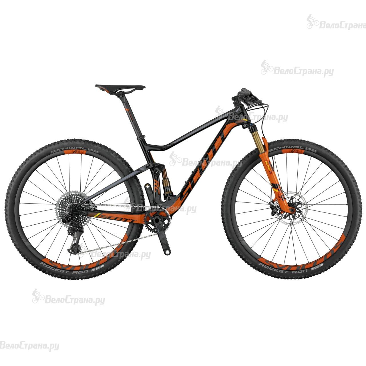 Велосипед Scott Spark RC 700 SL (2017) велосипед scott spark 700 rc 2015