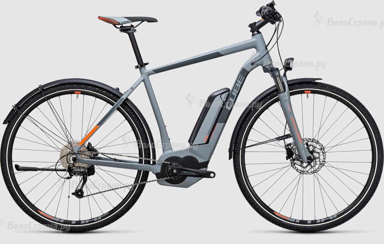 Велосипед Cube Cross Hybrid ONE Allroad 400 (2017) велосипед cube curve allroad 2016