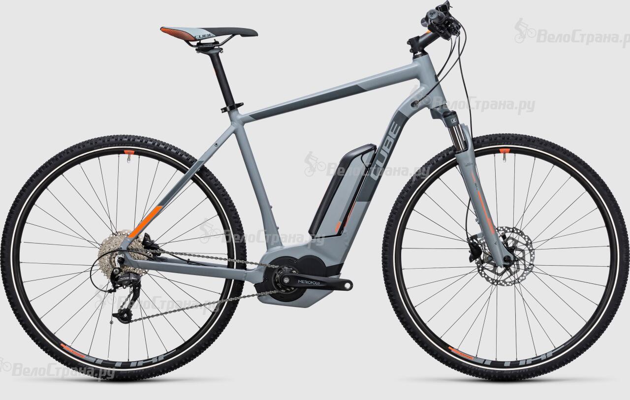 Велосипед Cube Cross Hybrid ONE 500 (2017)