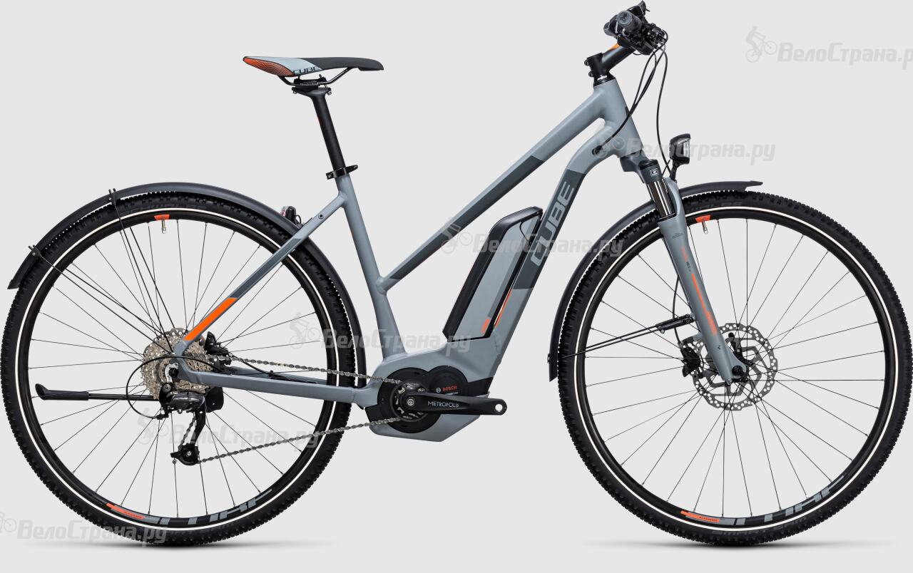 Велосипед Cube Cross Hybrid ONE Allroad 500 Lady (2017) велосипед cube curve allroad 2016