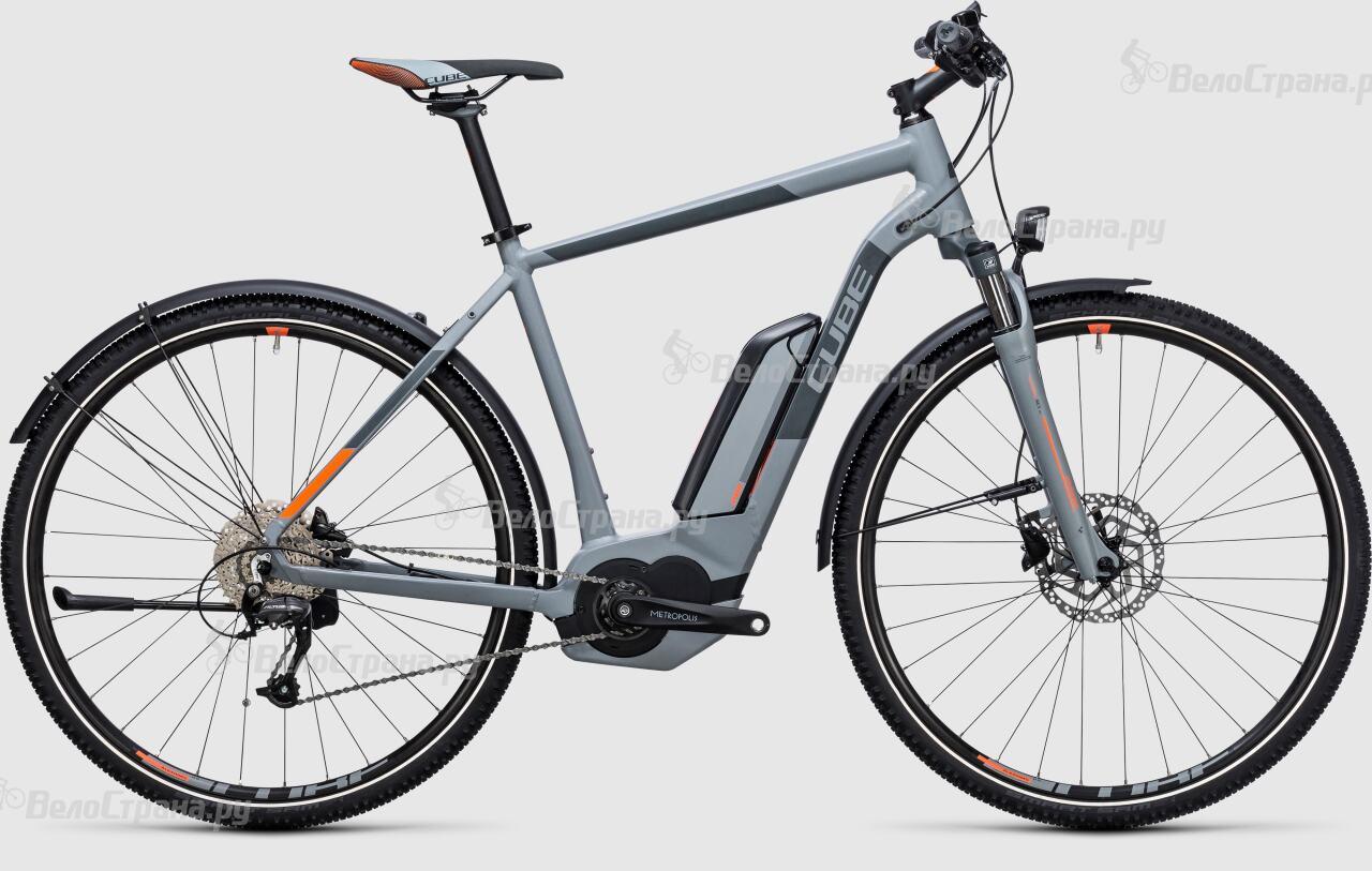 Велосипед Cube Cross Hybrid ONE Allroad 500 (2017)