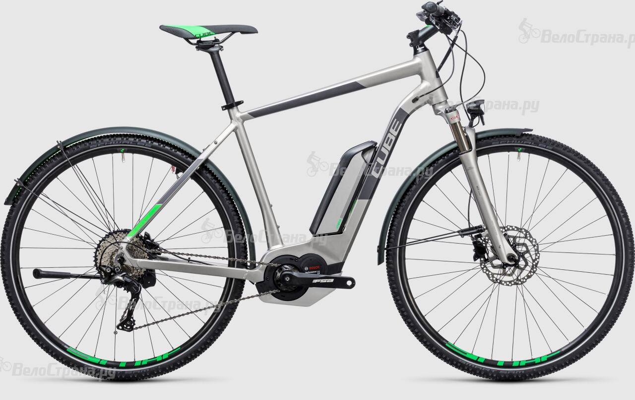 Велосипед Cube Cross Hybrid Race Allroad 500 (2017) велосипед cube cross race slt 2017